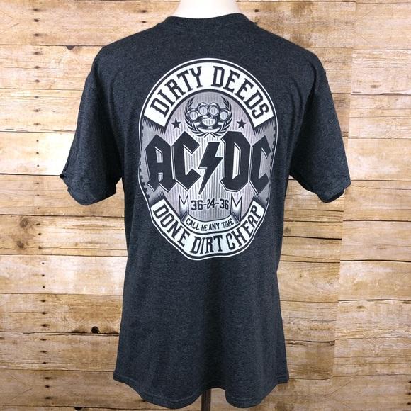 AC//DC Boys Jagged Logo T-Shirt